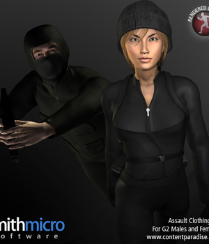 Assault Clothing Set for G2 Figures (Secret Agent Series) Legacy Discounted Content Poser_Software