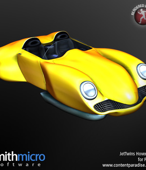 Hover Car (Jet Twins Series) Legacy Discounted Content Poser_Software