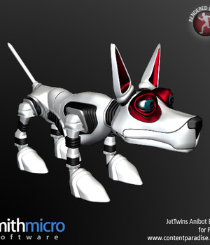 Dog Robot (Jet Twins Series) Legacy Discounted Content Smith_Micro
