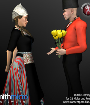 Dutch Clothing for G2 Figures (World Travel Series) Legacy Discounted Content Smith_Micro
