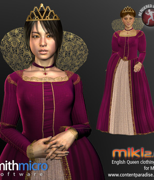 Elizabethan English Queen for Miki 2.0 Legacy Discounted Content Smith_Micro