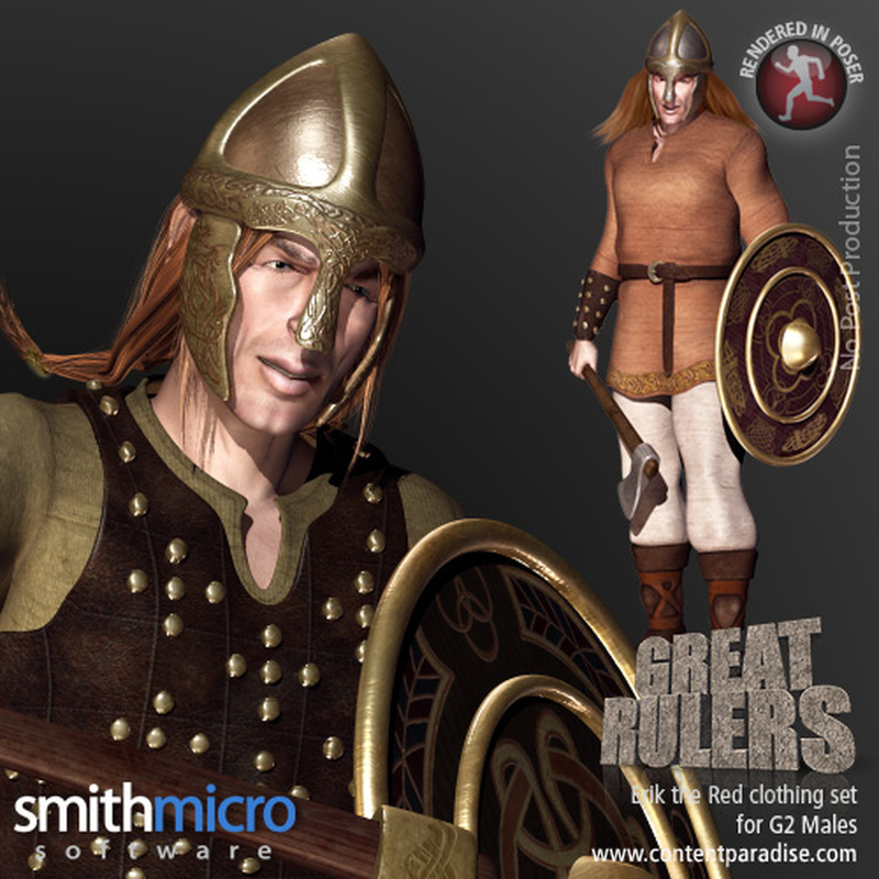 Erik the Red Clothing Set for the G2 Males (Great Rulers)