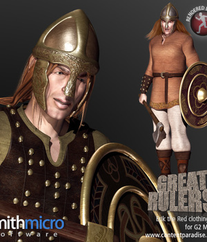 Erik the Red Clothing Set for the G2 Males (Great Rulers) Legacy Discounted Content Smith_Micro