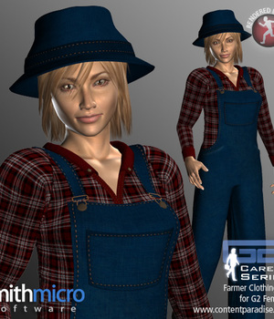 Farm Clothing Set for G2 Females (Career Series) Legacy Discounted Content Smith_Micro