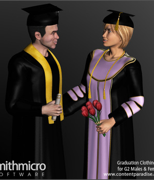 Graduation Gown for G2 Males & G2 Females Legacy Discounted Content Smith_Micro