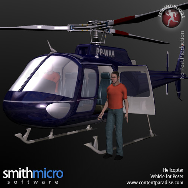 Helicopter (Secret Agent Series)
