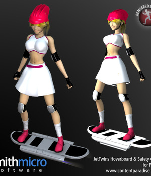 Hoverboard with Safety Gear (Jet Twins Series) Legacy Discounted Content Smith_Micro