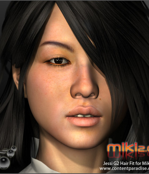 G2 Jessi Hair Refitted for Miki 2.0 Legacy Discounted Content Smith_Micro