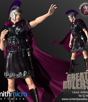 Julius Caesar Clothing Set for the G2 Males (Great Rulers) Legacy Discounted Content Smith_Micro