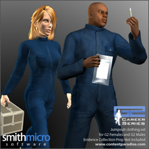 Jumpsuits for the G2 Figures (Career Series) image 1