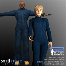 Jumpsuits for the G2 Figures (Career Series) image 3