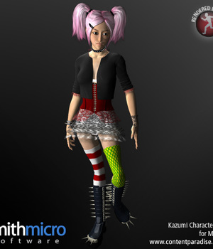 Kazumi Character Pack for Miki 2.0 Legacy Discounted Content Poser_Software