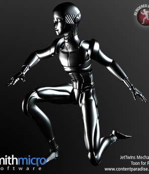 Male Robot (Jet Twins Series) Legacy Discounted Content Smith_Micro