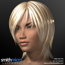 Miki 2.0 Hair Refitted for G2 Females image 1