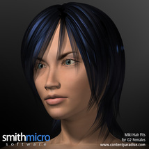 Miki 2.0 Hair Refitted for G2 Females image 2