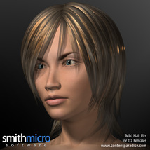 Miki 2.0 Hair Refitted for G2 Females image 3