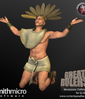 Moctezuma Clothing Set for the G2 Males (Great Rulers) Legacy Discounted Content Smith_Micro