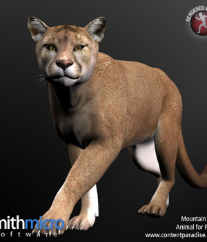 Mountain Lion (Wildlife Series) Legacy Discounted Content Smith_Micro