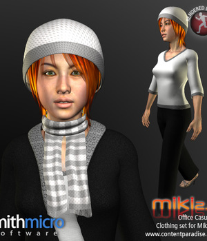 Office Casual 2 for Miki 2.0 Legacy Discounted Content Smith_Micro