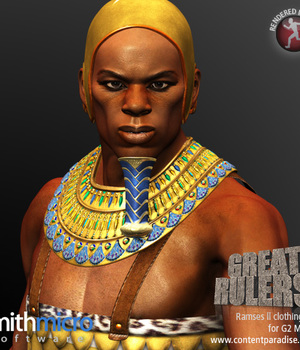 Ramses II Clothing Set for the G2 Males (Great Rulers) Legacy Discounted Content Smith_Micro