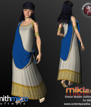 Roman Maiden for Miki 2.0 Legacy Discounted Content Smith_Micro