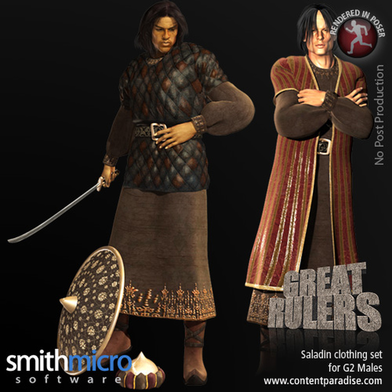 Saladin Clothing Set for the G2 Males (Great Rulers)