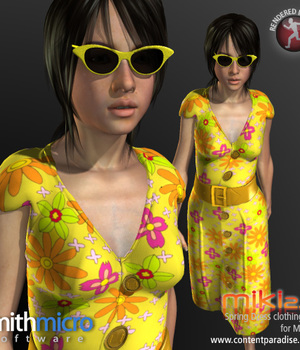 Spring Dress for Miki 2.0 Legacy Discounted Content Smith_Micro