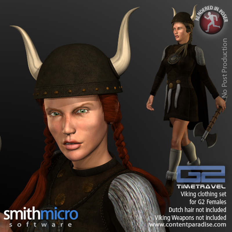 Viking Clothing Set for G2 Females (Time Travel Series)