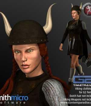 Viking Clothing Set for G2 Females (Time Travel Series) Legacy Discounted Content Smith_Micro