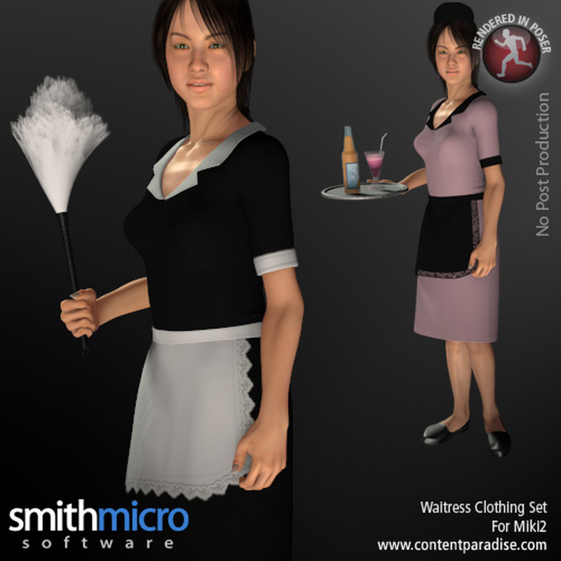 Waitress/Maid Uniform for Miki 2.0