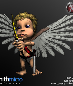 Baby Toon Cupid Legacy Discounted Content Poser_Software