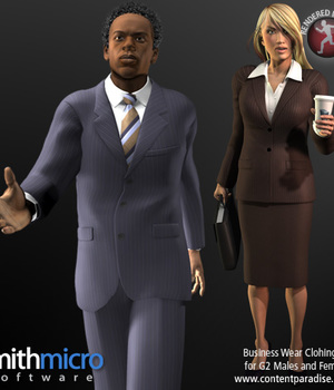 Business Clothing for G2 Figures (Career Series) Legacy Discounted Content Smith_Micro