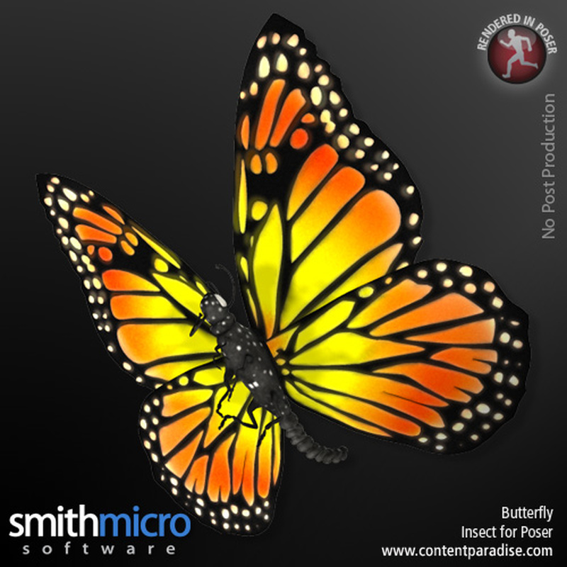 Butterfly by Poser_Software