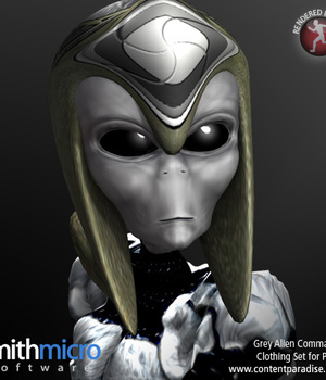Grey Alien Commando Legacy Discounted Content Smith_Micro