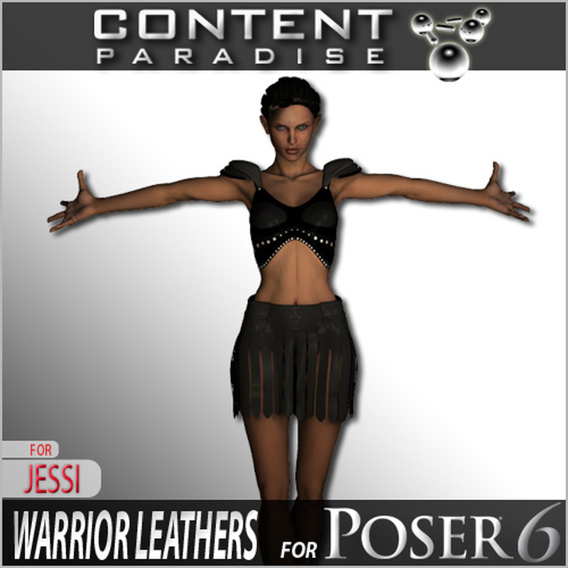 Warrior Leathers for Poser 6 Jessi
