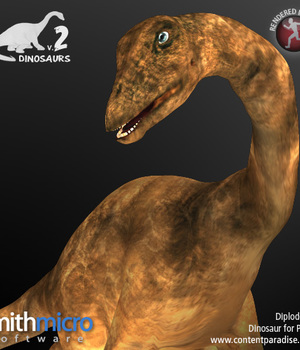 Diplodocus Legacy Discounted Content Poser_Software