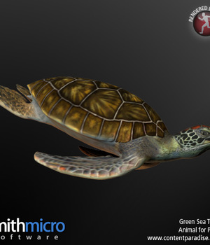 Green Sea Turtle Legacy Discounted Content Poser_Software