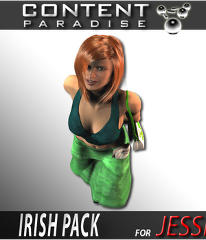 Irish Pack for Poser 6 Jessi Legacy Discounted Content Smith_Micro