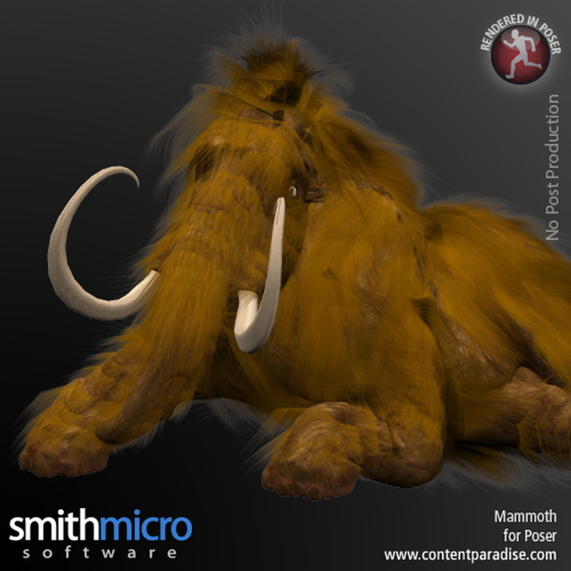 Mammoth by Poser_Software