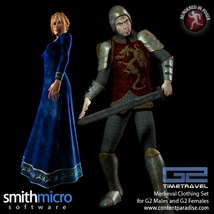 Medieval Clothing for G2 Figures (Time Travel Series) image 2