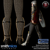 Medieval Clothing for G2 Figures (Time Travel Series) image 3