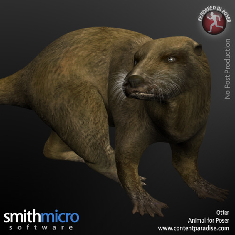 Otter by Poser_Software