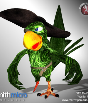 Patch the Toon Parrot Legacy Discounted Content Smith_Micro