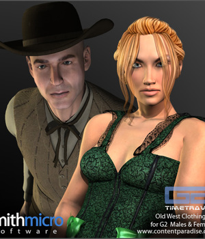Old West Clothing for G2 Figures (Time Travel Series) Legacy Discounted Content Smith_Micro