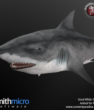 Great White Shark Legacy Discounted Content Smith_Micro