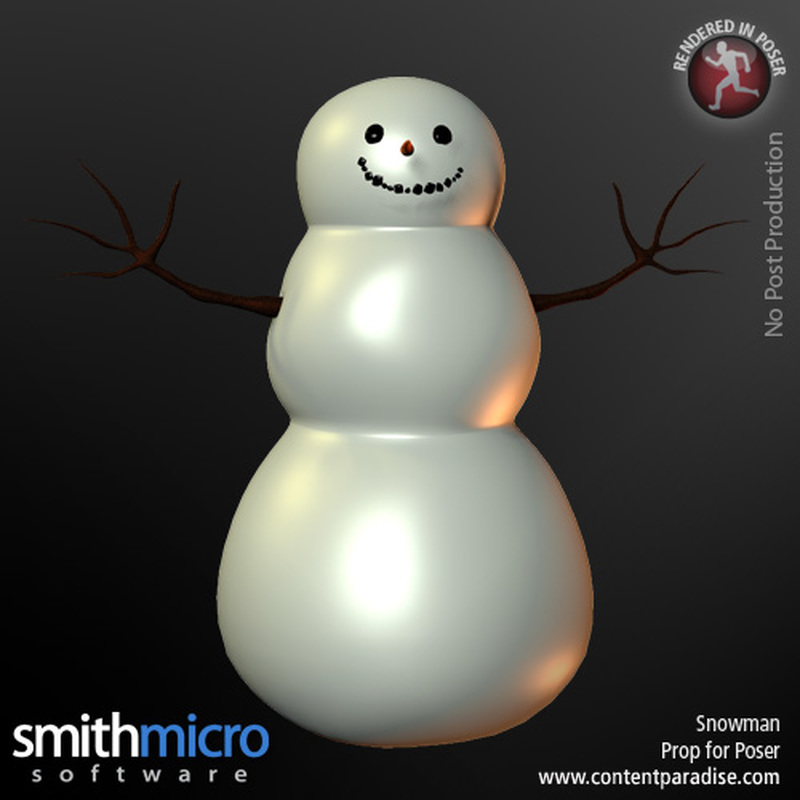 Snowman by Poser_Software