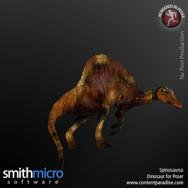 Spinosaurus by Poser_Software