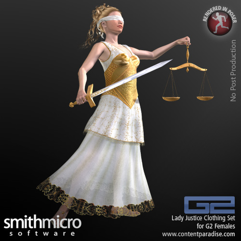 Lady Justice Clothing for G2 Females