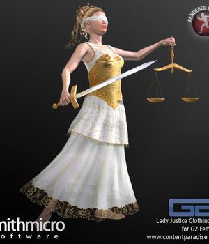 Lady Justice Clothing for G2 Females Legacy Discounted Content Poser_Software