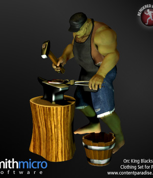 Orc King Blacksmith Clothing Set Legacy Discounted Content Smith_Micro